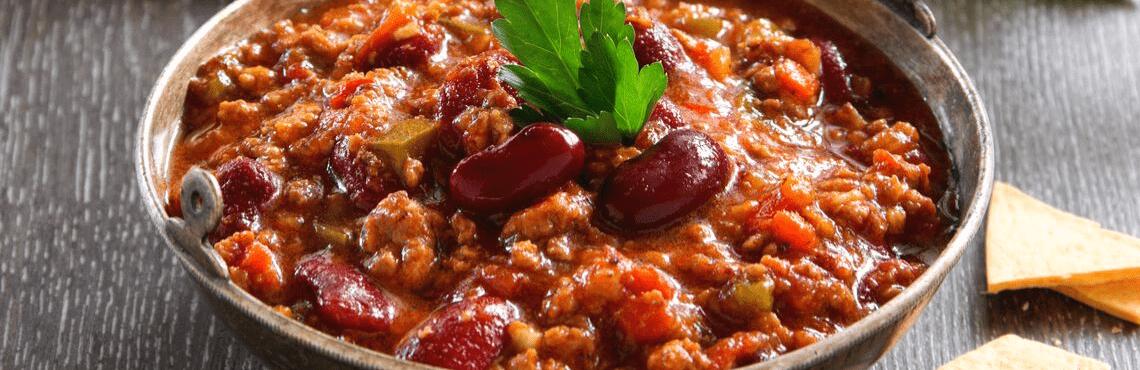 Caliente: scharfes Chili con Carne