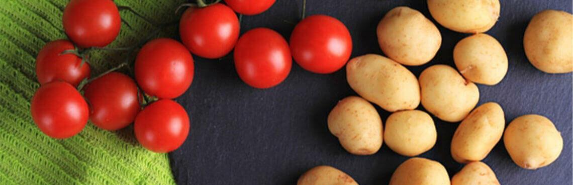 Patate italiane – Ofenkartoffeln italienischer Art