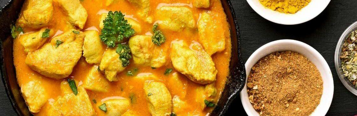 Super spicy: Indisches Hühnerfrikassee
