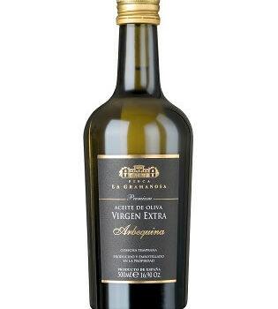 Natives Olivenöl aus Spanien Arbequina 500 ml FINCA LA GRAMANOSA